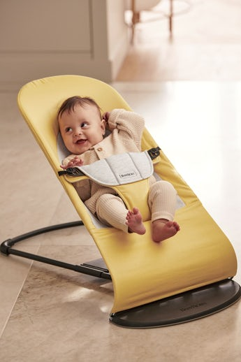 Bouncer Balance Soft with natural bouncing in soft Cotton/Jersey - BABYBJÖRN