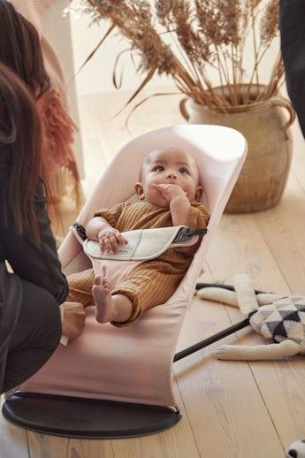 Sdraietta Balance Soft Rosa Chiaro Grigio Cotton Jersey - BABYBJÖRN