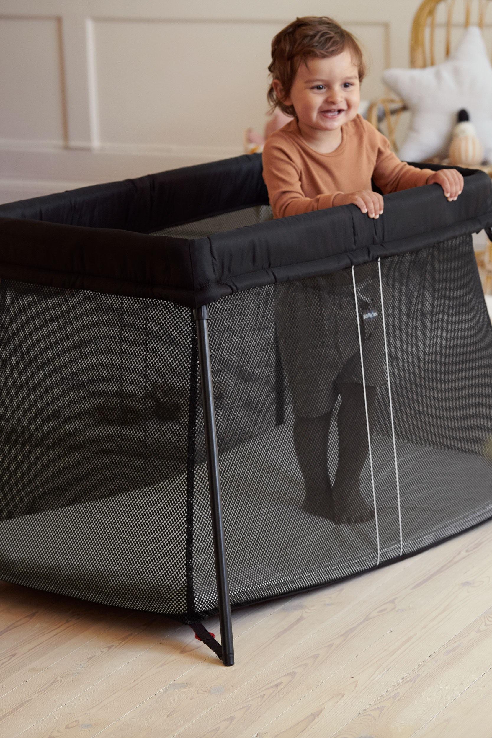 Travel Crib Light Perfect At Home Away Babybjorn