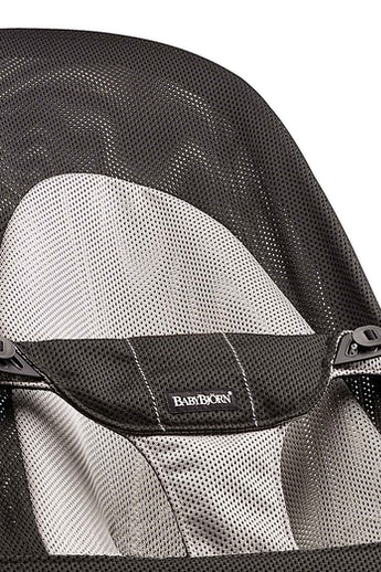 Bouncer Balance Soft Black Grey Mesh - BABYBJÖRN
