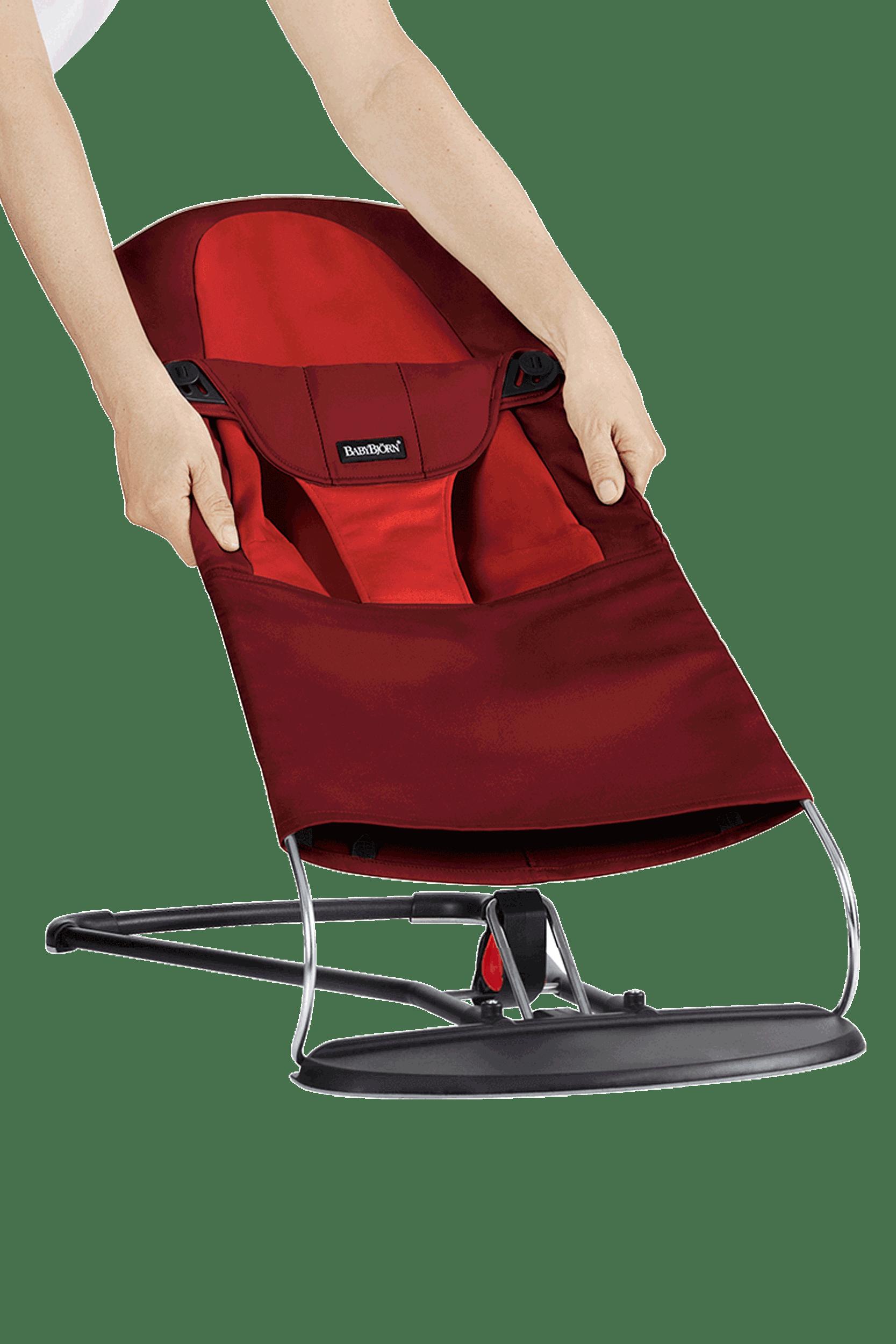 BABYBJÖRN Extra Tygsits till Babysitter Balance Soft - Rost/Orange, Cotton