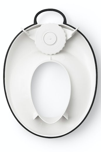 Toilet Training Seat White Black - BABYBJÖRN