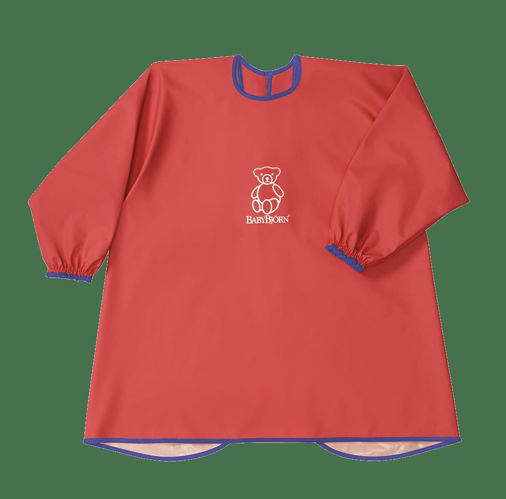 Ät och Lekförkläde Röd - BABYBJÖRN Shop