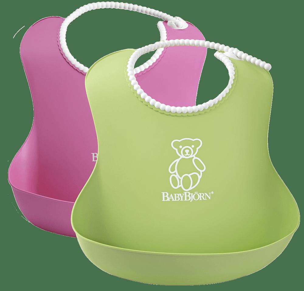 BABYBJÖRN Mjuk Haklapp, 2-pack