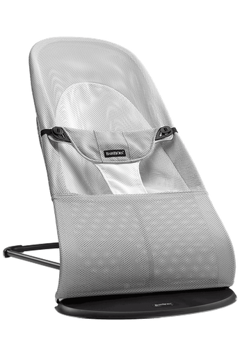 Sdraietta Balance Soft Argento Bianco Mesh - BABYBJÖRN