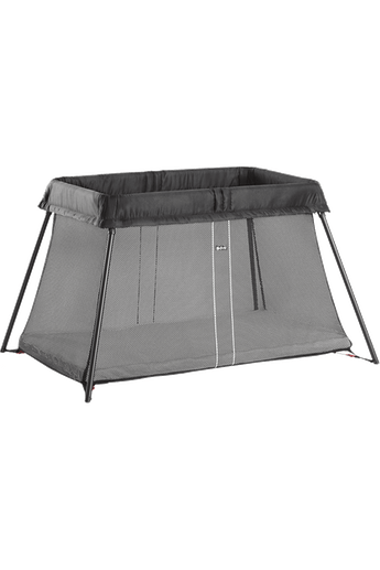 Travel Cot Light Black Mesh - BABYBJÖRN