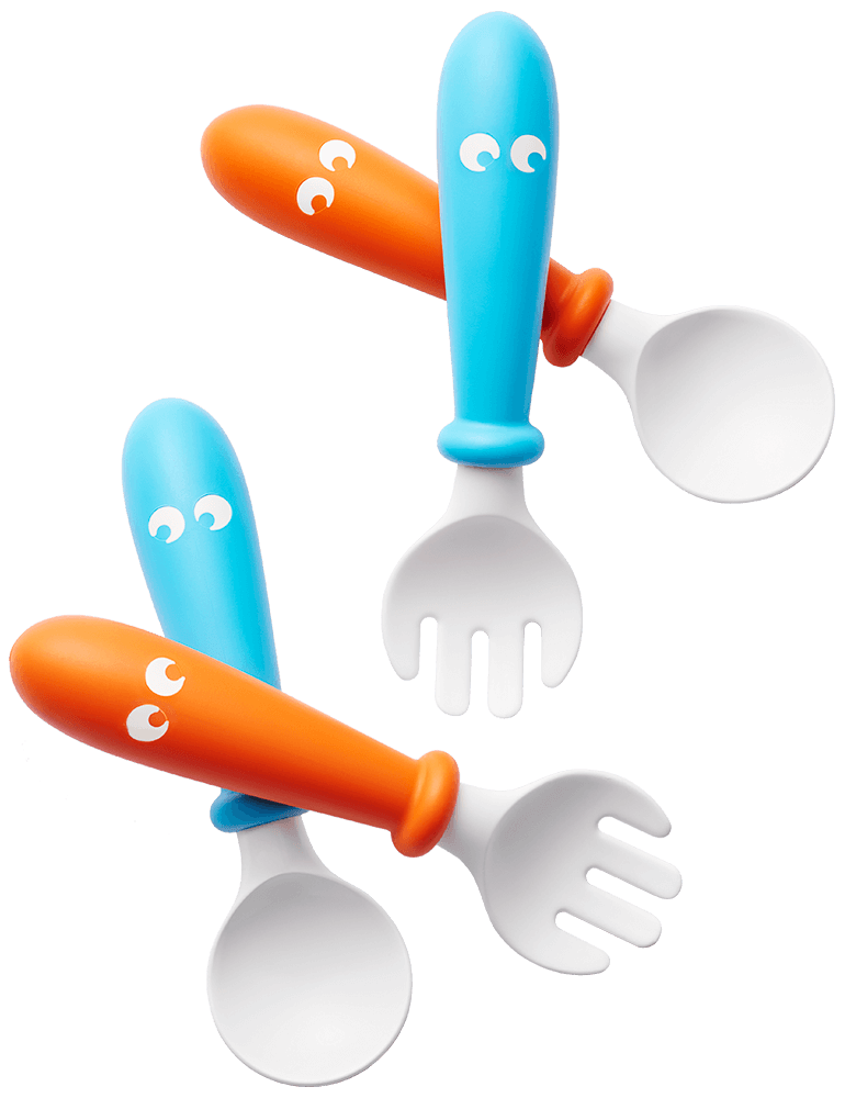 073082-Baby-Spoon-and-Fork-Orange-Turquoise