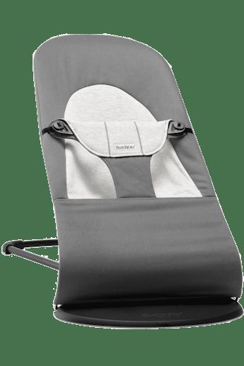 Sdraietta Balance Soft Grigio Scuro Grigio Cotton Jersey - BABYBJÖRN