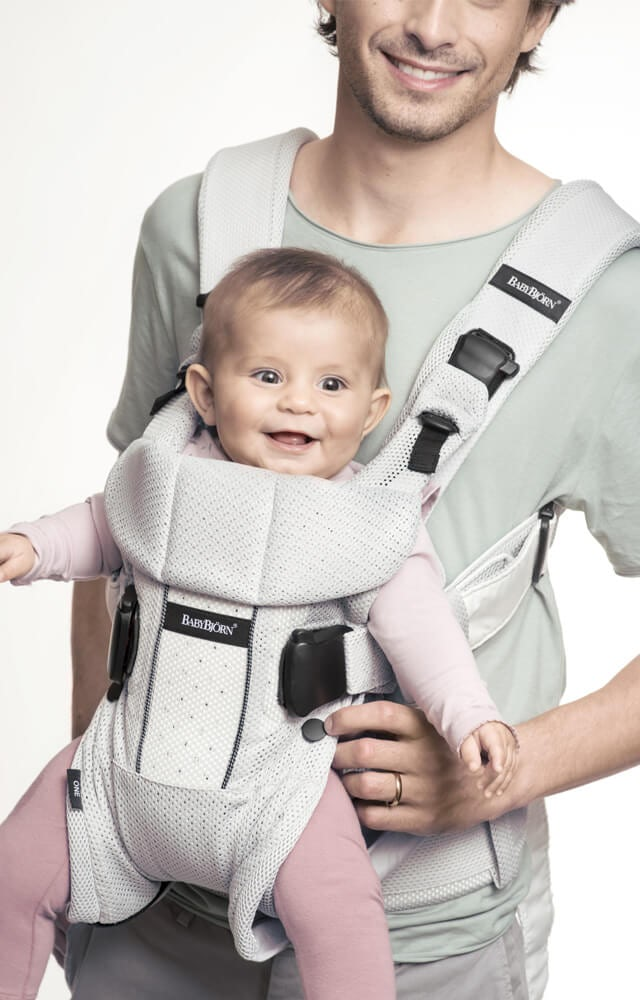 Baby Carrier One Air In Soft Amp Airy Mesh Babybj 214 Rn