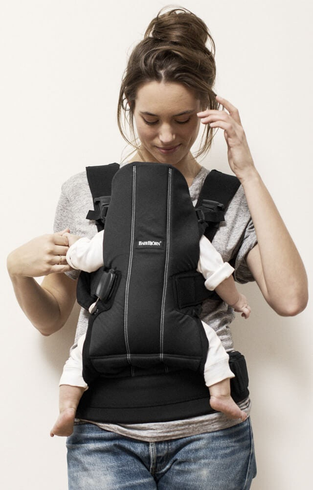 how to carry a baby on your back