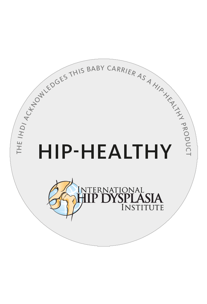 Hüftfreundliche Babytrage - International Hip Dysplasia Institute