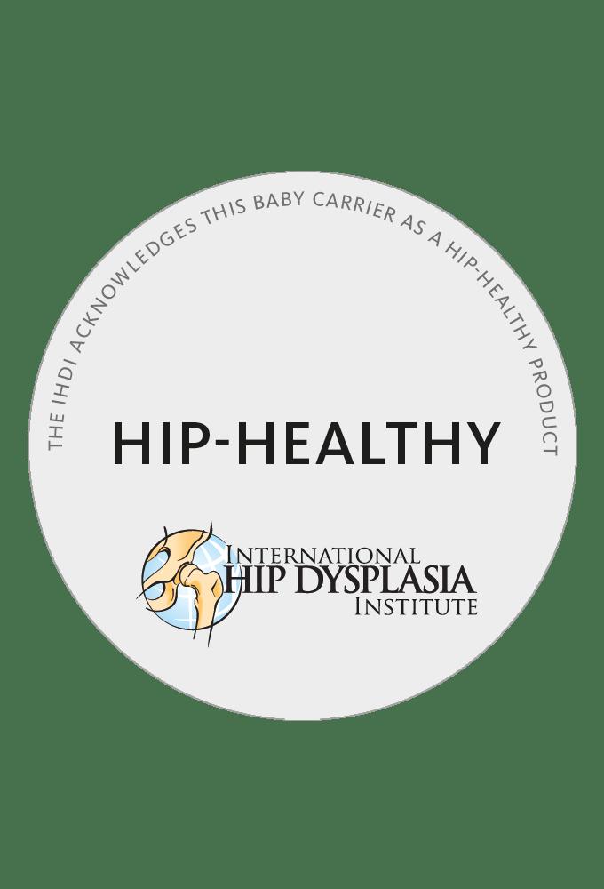 Hüftfreundliche Babytrage - International Hip Dysplasia Institute