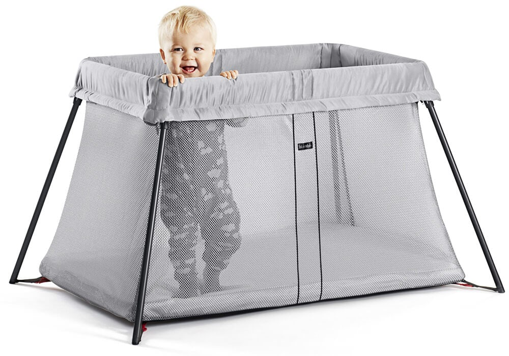 Travel Cot Light Perfect At Home Amp Away Babybj 214 Rn