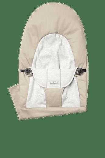 Sedile in Tessuto per Sdraietta Balance Soft Beige Grigio Cotton Jersey - BABYBJÖRN