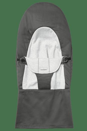 Sedile in Tessuto per Sdraietta Balance Soft Grigio Scuro Grigio Cotton Jersey - BABYBJÖRN
