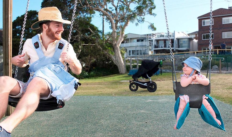 Revista BABYBJÖRN – Johannes de baja por paternidad en Australia.