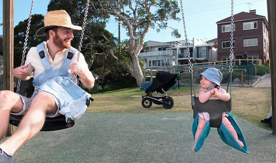 Pappaledig i Australien