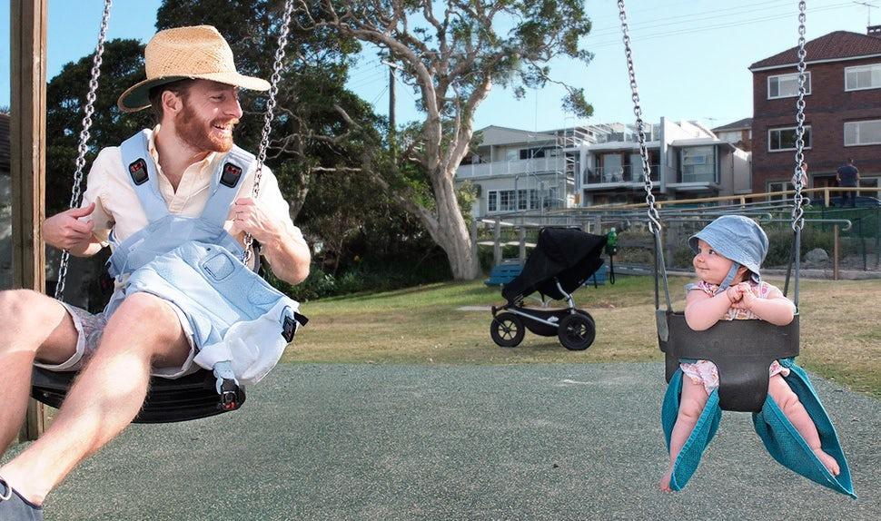 Magazine BABYBJÖRN – Johannes en congé paternité en Australie.