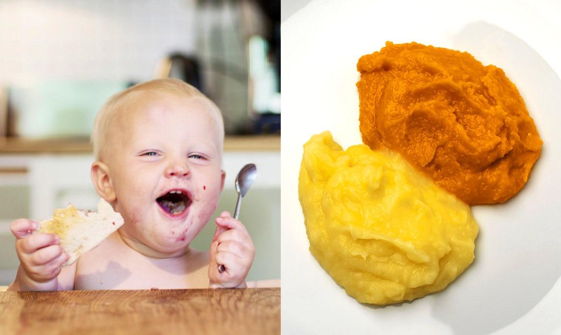Comienza a hacer comida para bebés en casa