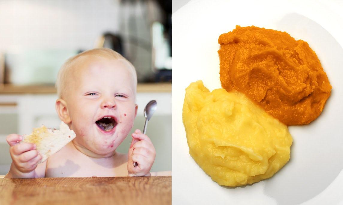 Bereite dein eigenes Essen für Kleinkinder zu