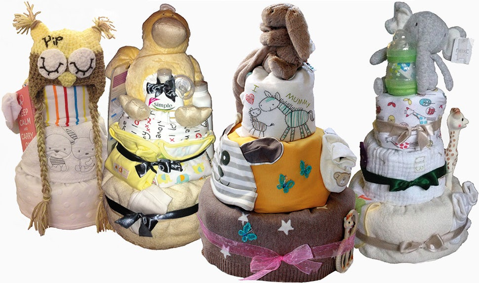 BABYBJÖRN Magazine – A baby shower present to desire, a nappy cake full of babyshower presents.