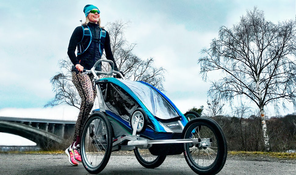 BABYBJÖRN Magazine – Petra Månström runs to keep fit after pregnancy.
