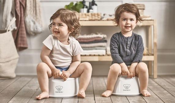 Smart Potty Vit/Grå - BABYBJÖRN