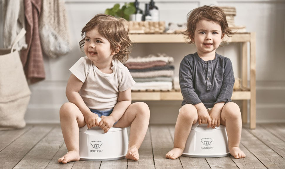 Smart Potty Vit/Grå - BABYBJÖRN