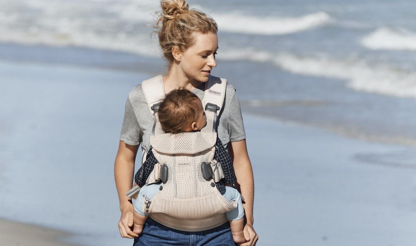 Baby Carrier One Air Pearly Pink - BABYBJORN