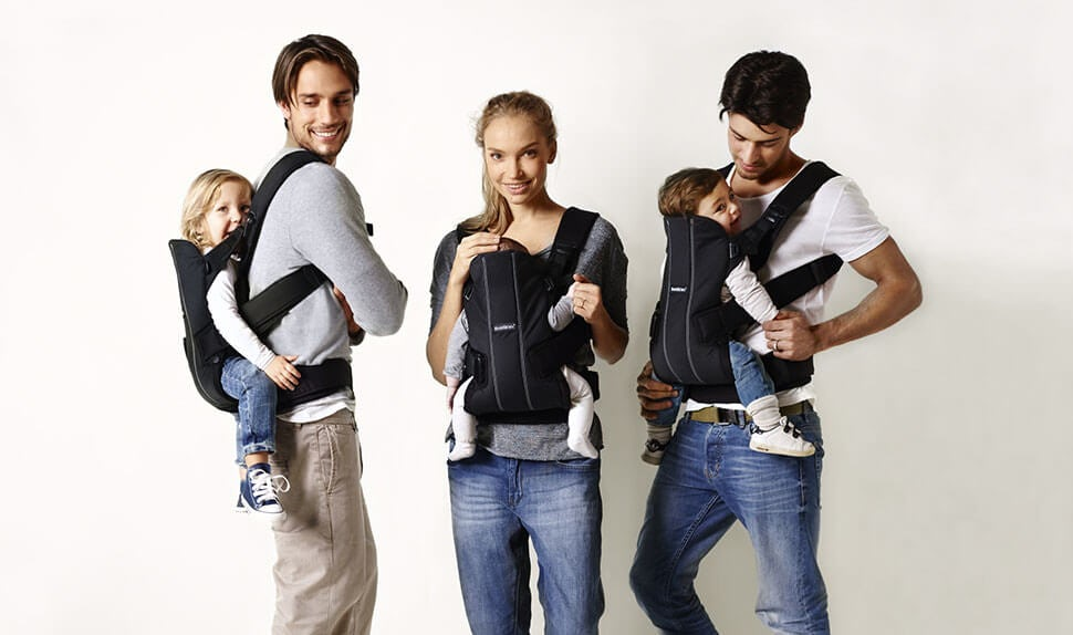 Baby Carrier We Front and Back Carrying BABYBJÖRN