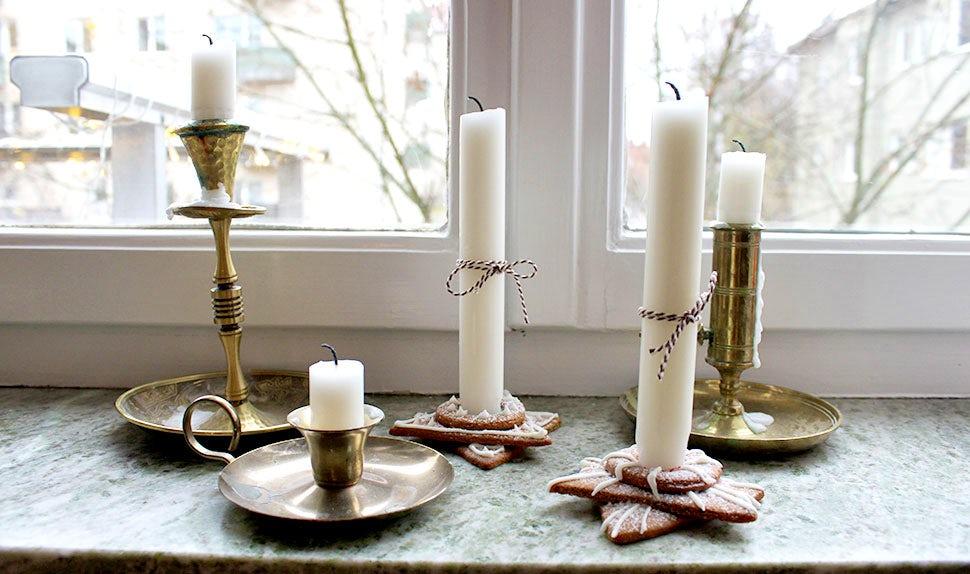 BABYBJÖRN Magazin – Weihnachtsbasteleien und Dekorationen aus Lebkuchen