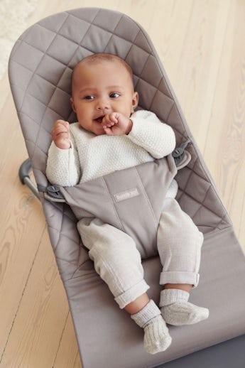 Sdraietta Bliss Grigio Sabbia Cotton - BABYBJÖRN