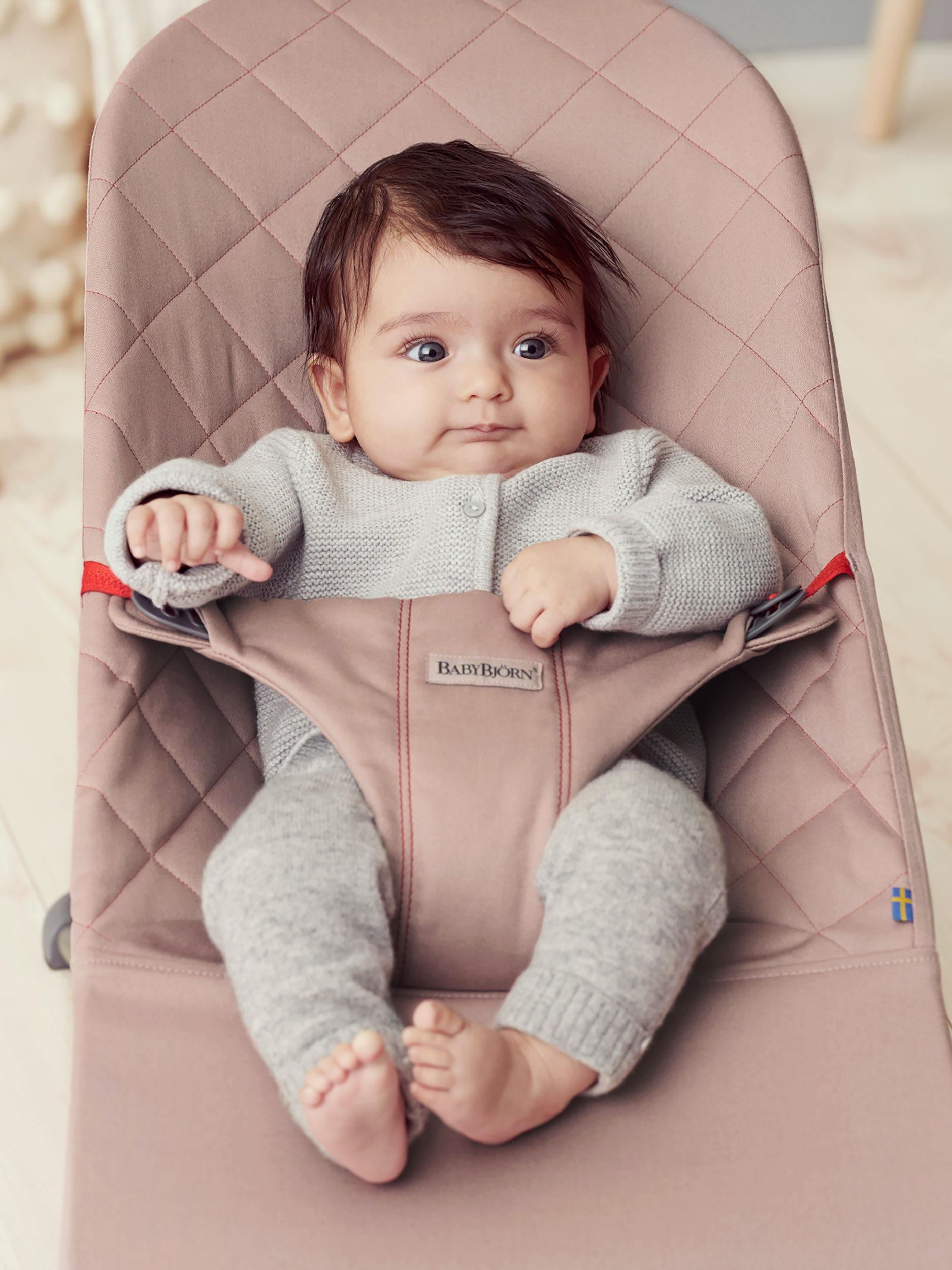 Babysitter Bliss i Antikrosa Cotton - BABYBJÖRN