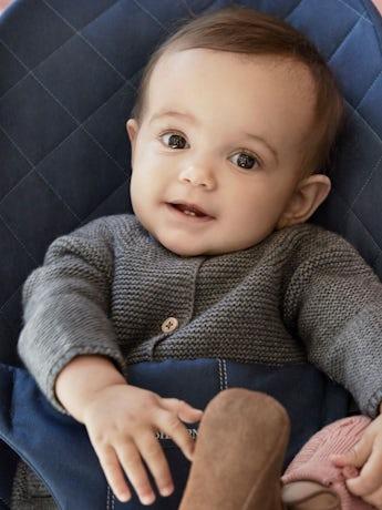 Sdraietta Bliss Blu Notte Cotton - BABYBJÖRN