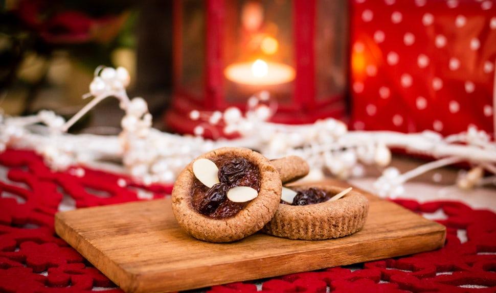 Weihnachtsplätzchen mit Glühwein- und Pfefferkuchengeschmack