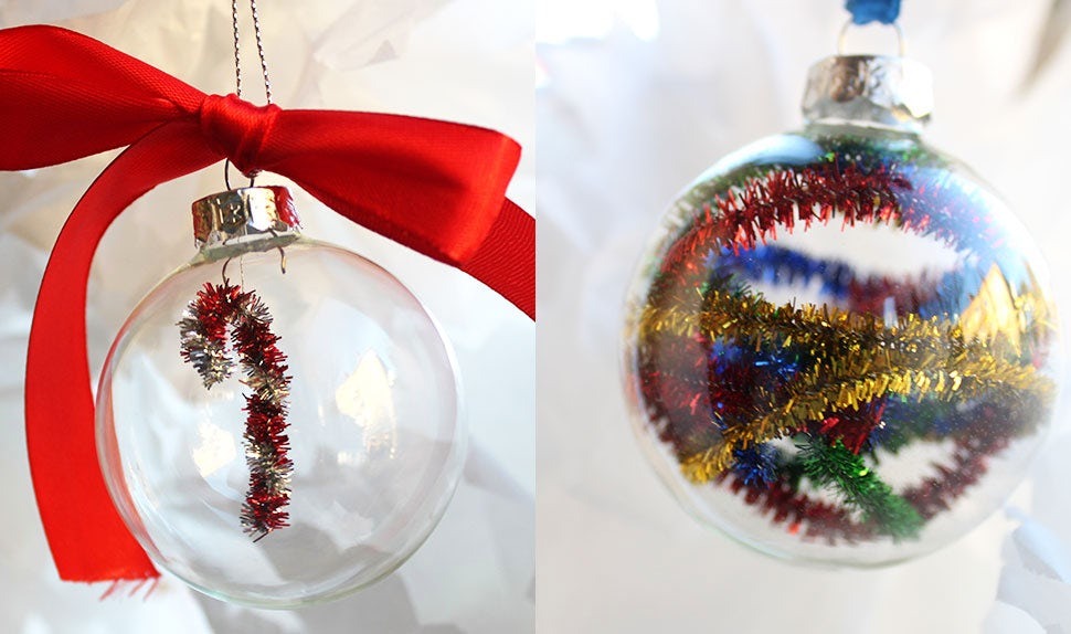 BABYBJÖRN Magazine for Parents – Crafts for kids: Christmas tree balls