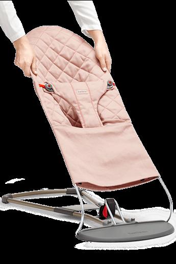 Extra Tygsits till Babysitter Bliss i Antikrosa Cotton - BABYBJÖRN