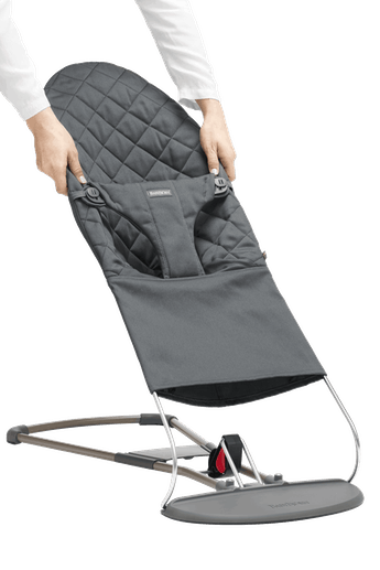 Housse pour Transat Bliss Anthracite Cotton - BABYBJÖRN