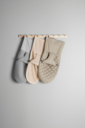 Fabric Seat for Bouncer Bliss in quilted cotton, airy mesh and super soft 3D Jersey from BABYBJÖRN