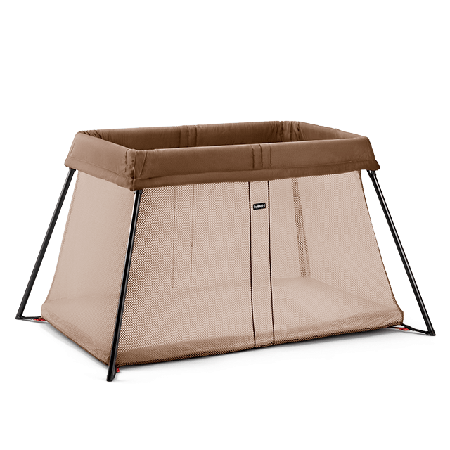 Travel Crib Light Light Brown BABYBJÖRN