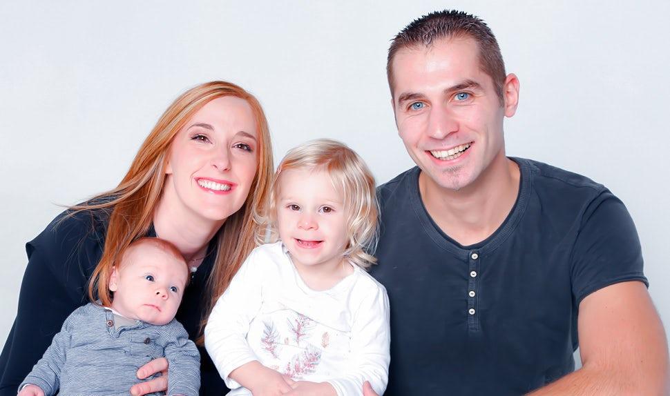 BABYBJÖRN Magazine – Birth stories: our unplanned home birth