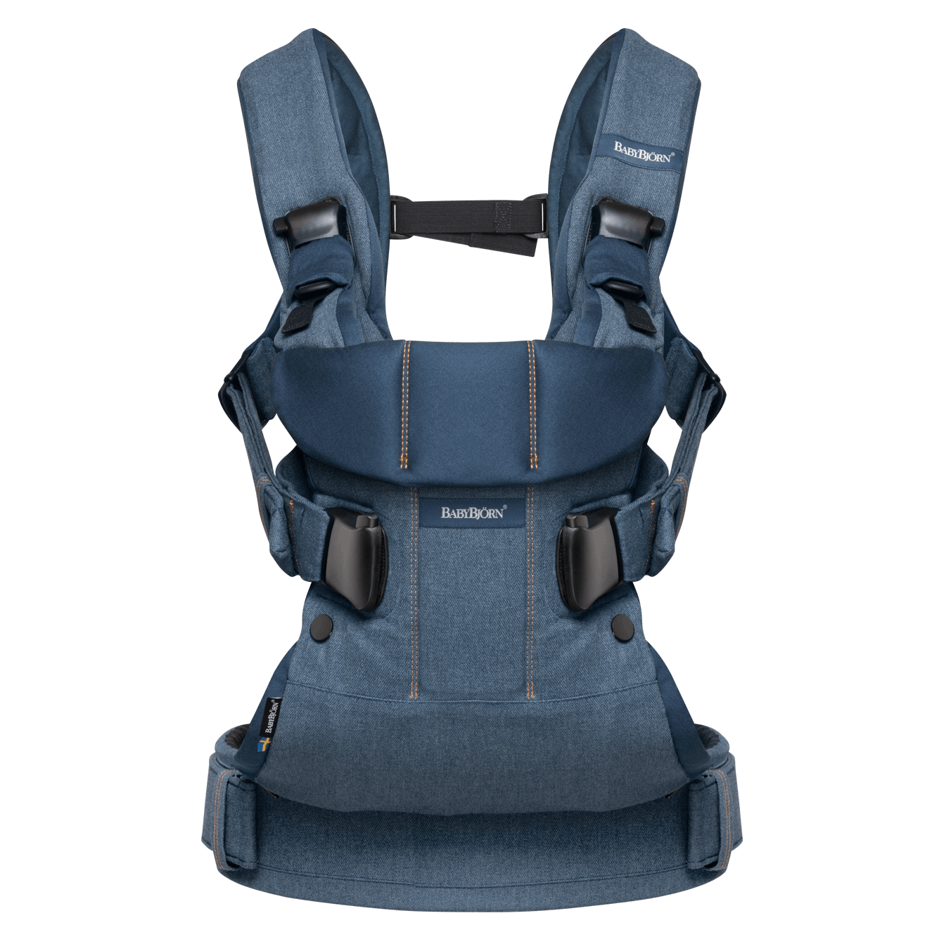 Baby Carrier One, an ergonomic baby carrier with multiple carrying options - BABYBJÖRN