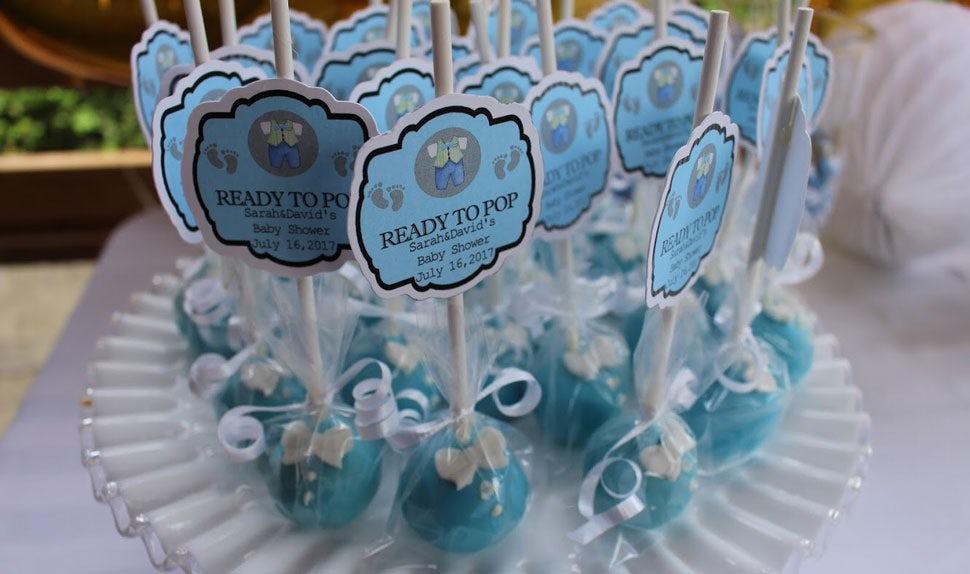 Magazine BABYBJÖRN – Des cake pops en guise de cadeau pour les invités de la baby shower