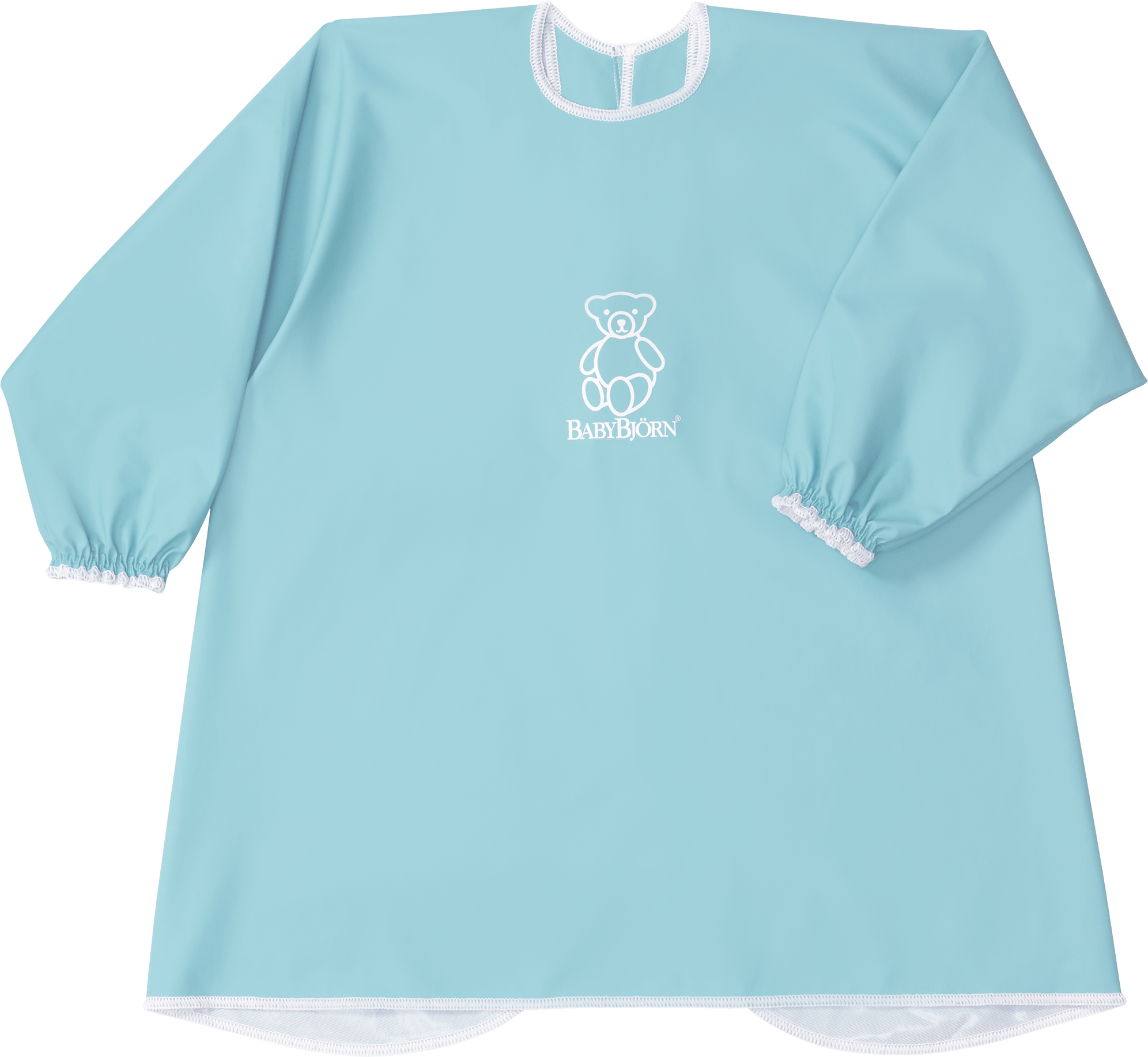 BABYBJÖRN Bavoir a manches longues Turquoise 044381