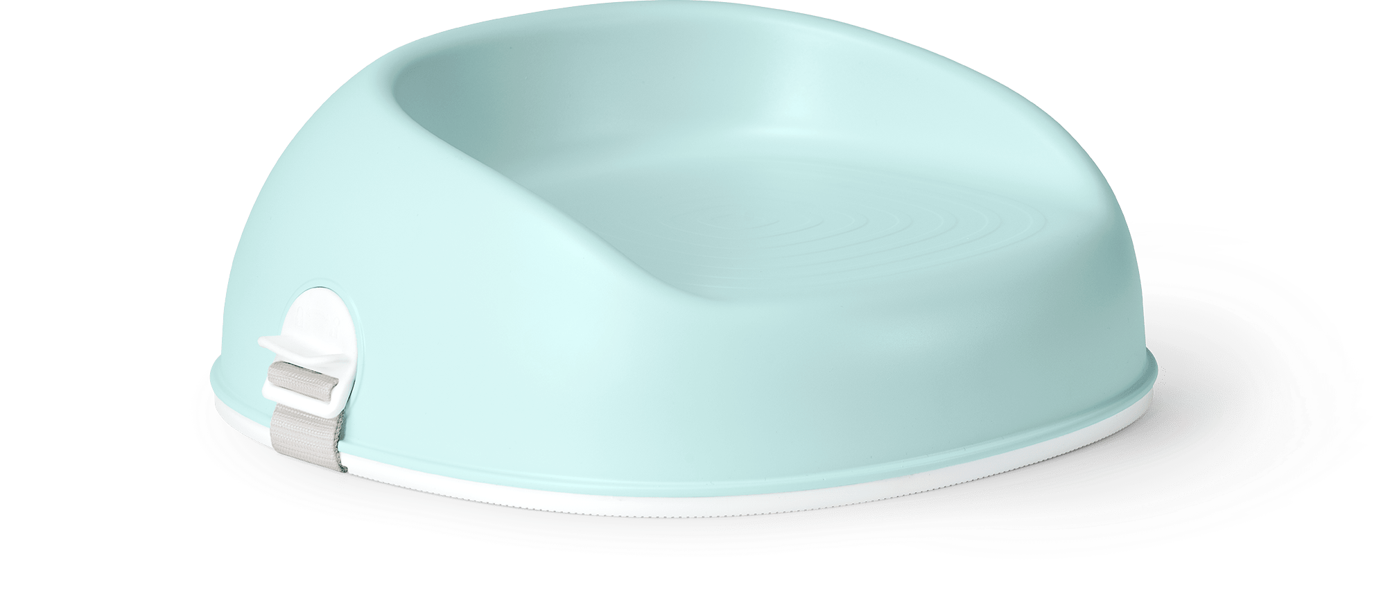 BABYBJÖRN Booster Seat in mint green, a smart solution that you place on a chair to help your child reach the table.