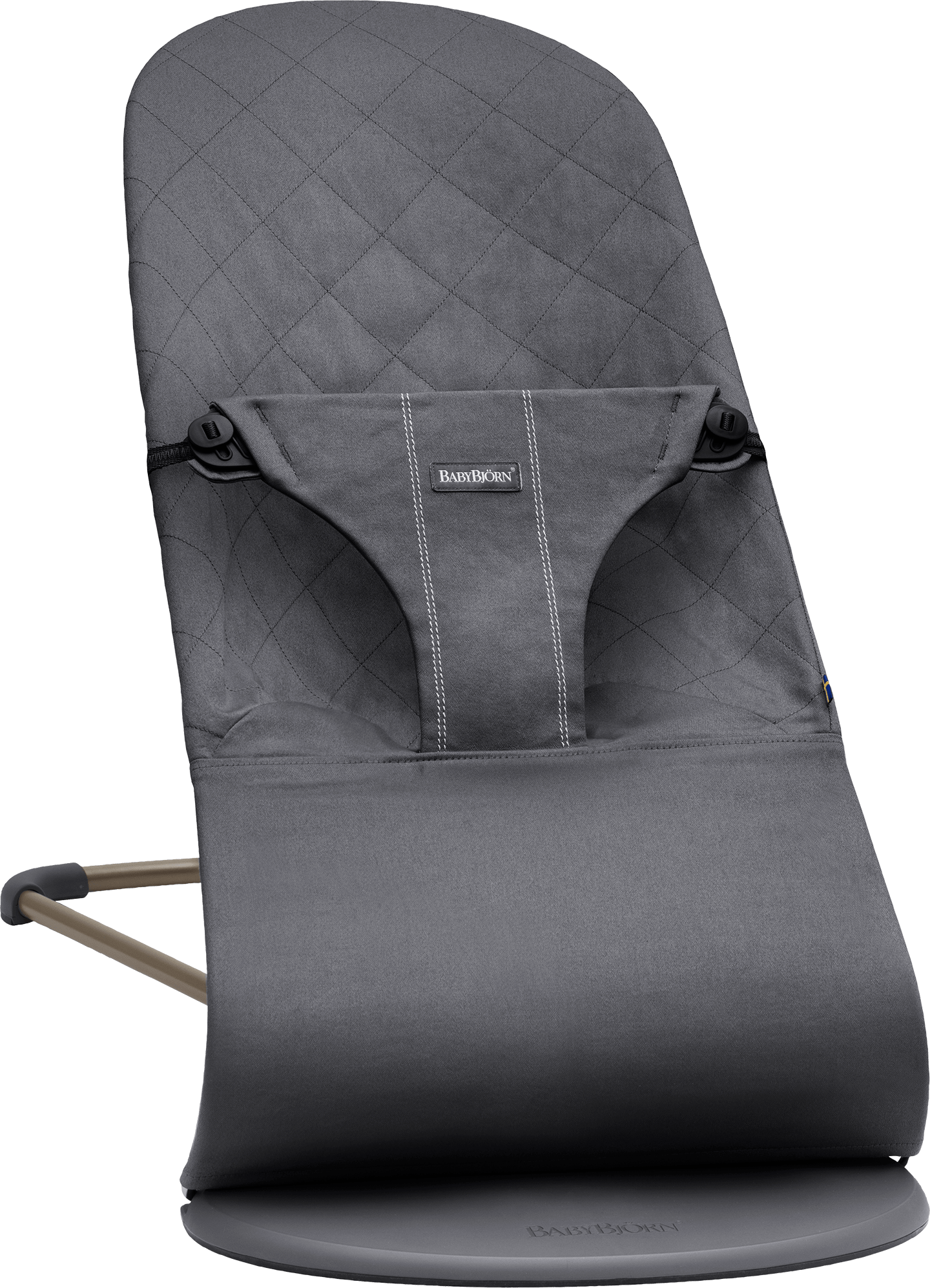 6a88cc24e01 BABYBJÖRN Bouncer Bliss in anthracite cotton