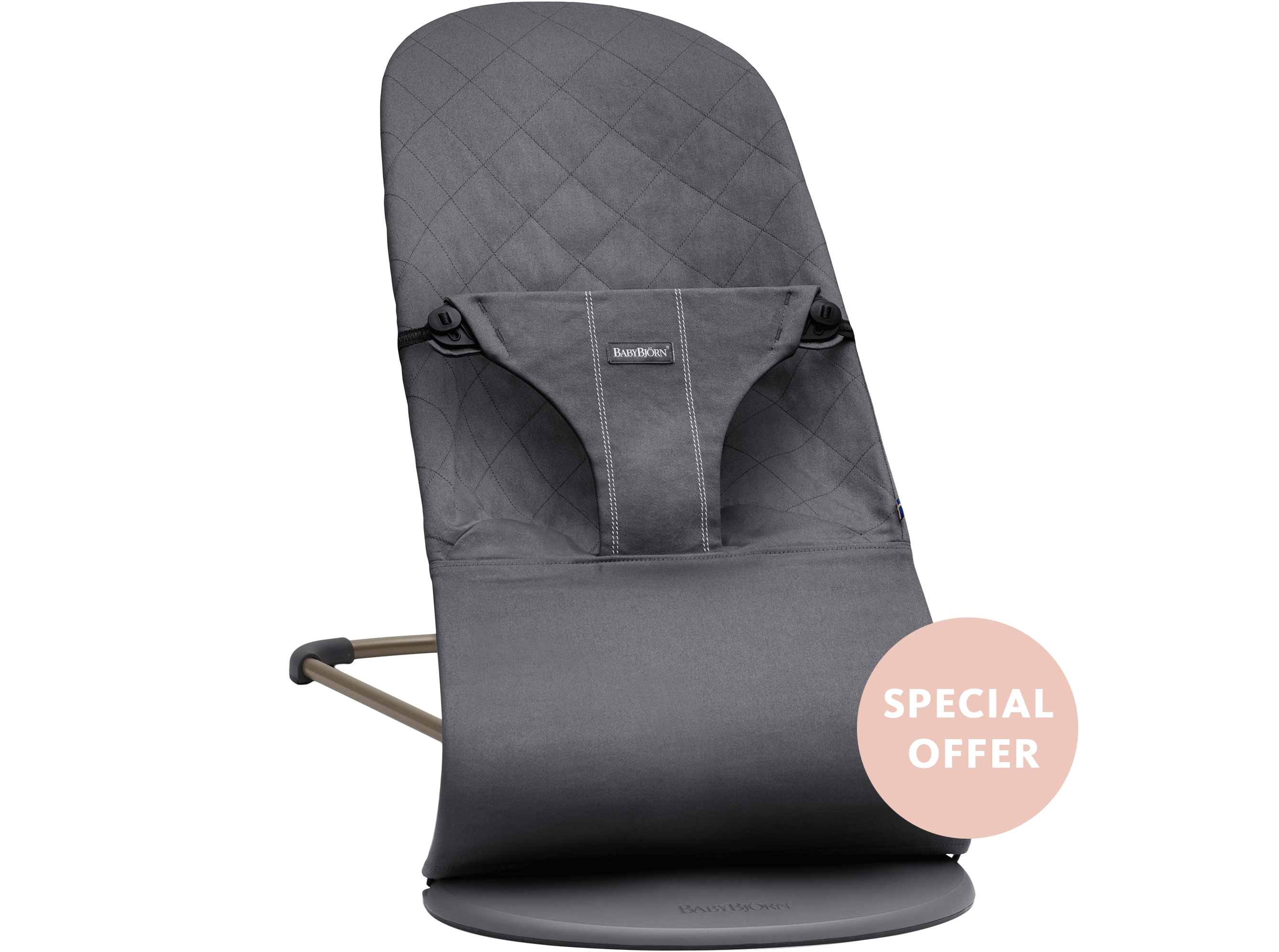 Bouncer Bliss Anthracite Cotton-Special-offer - BABYBJÖRN