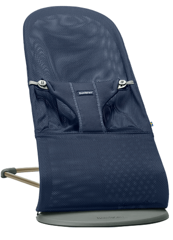 Bouncer Bliss Navyblue Mesh - BABYBJÖRN