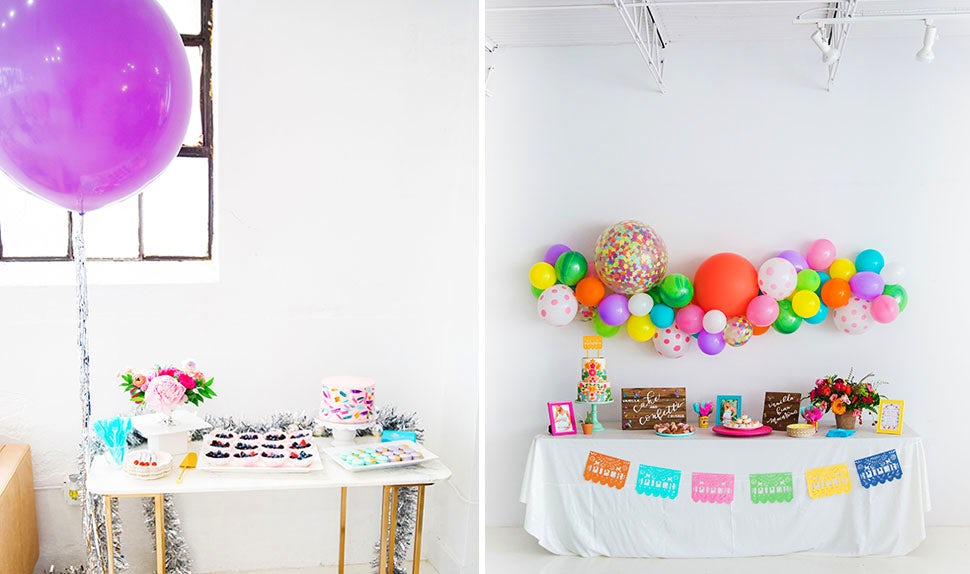 BABYBJÖRN Magazine – Colourful baby shower decorations with balloons in plenty.
