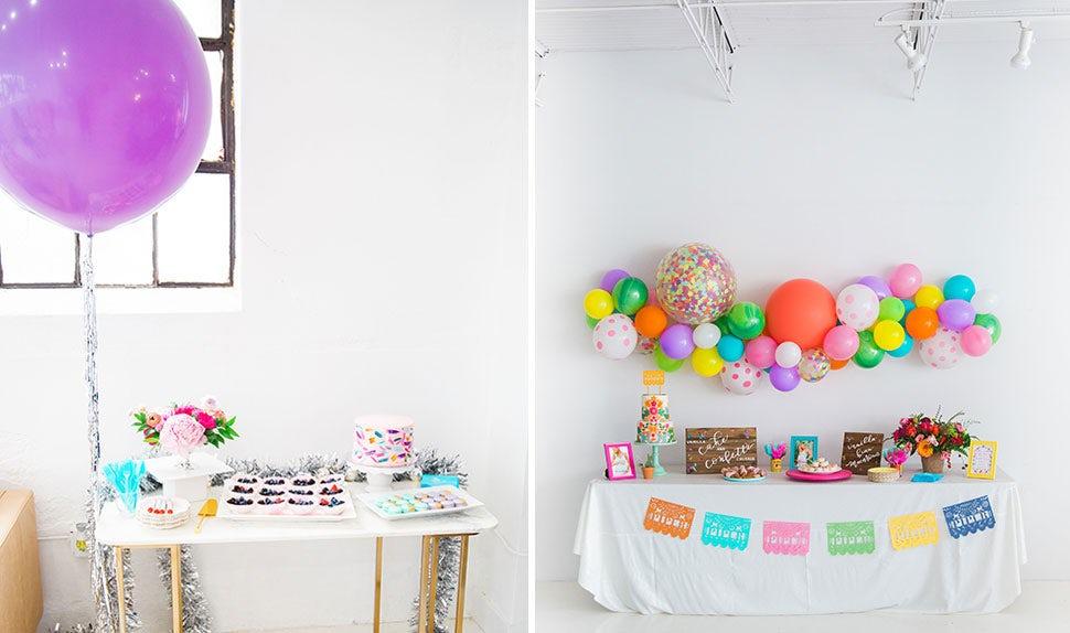 BABYBJÖRN Magazin U2013 Gestalte Eine Farbenfrohe Babyparty Deko Mit Vielen  Luftballons.